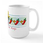Cinco de Mayo pepper band Large Mug