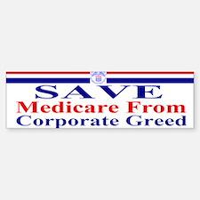 Save Medicare Sticker (Bumper)
