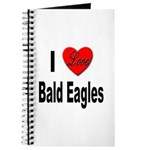 I Love Bald Eagles Journal