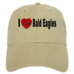 I Love Bald Eagles Cap