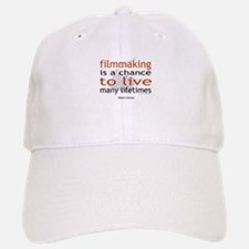 """Filmmaking is ..."" Baseball Baseball Cap"