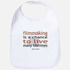 """Filmmaking is ..."" Bib"