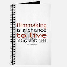 """""""Filmmaking is ..."""" Journal"""