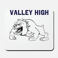 Valley High Bulldogs Mousepad