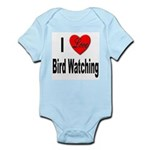 I Love Bird Watching Infant Creeper