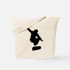 Funny Skateboard tricks Tote Bag