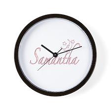 Samantha Moon and Stars Wall Clock