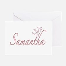 Samantha Moon and Stars Greeting Cards (Package of