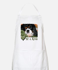 Loved by a King Apron