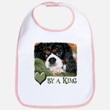 Loved by a King Bib