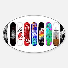 Cute Skateboarding Decal