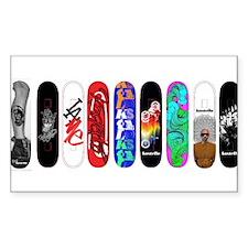Funny Skate board Decal