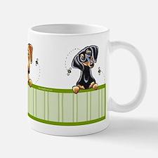 Bee Nice Smooth Dachshund Lover Mug