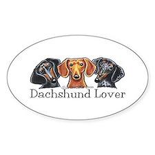 Dachshund Lover Decal