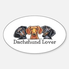 Dachshund Lover Decal