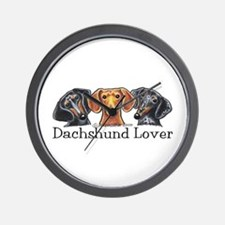 Dachshund Lover Wall Clock