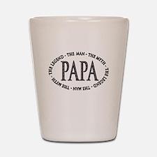 Papa The Legend Shot Glass
