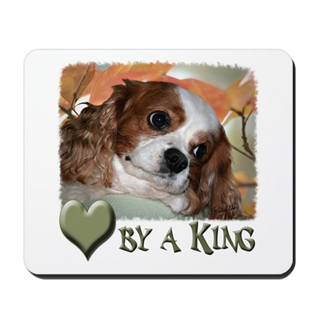 Loved by a King Mousepad