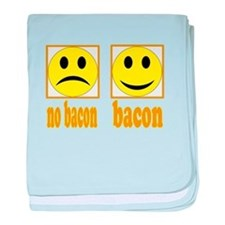 Hoo-Ray For Bacon baby blanket
