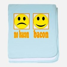 Hoo-Ray For Bacon baby blanket