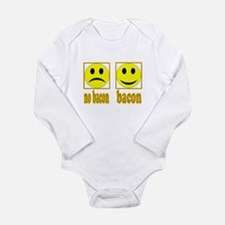 Hoo-Ray For Bacon Long Sleeve Infant Bodysuit