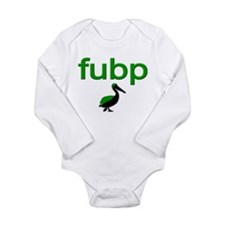 fu bp Long Sleeve Infant Bodysuit