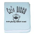 Cafe Disco baby blanket