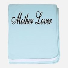 Mother Lover baby blanket