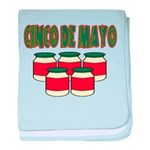 Cinco De Mayo! baby blanket