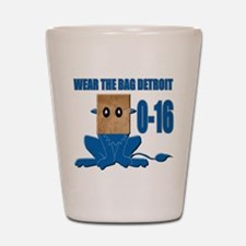 Wear The Bag Detroit Shot Glass