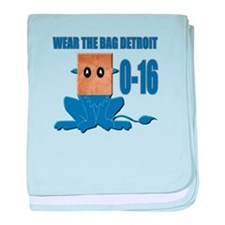 Wear The Bag Detroit baby blanket