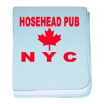 Hosehead Pub baby blanket