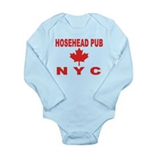 Hosehead Pub Long Sleeve Infant Bodysuit