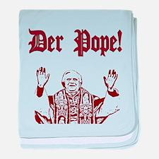 Der Pope! baby blanket