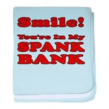 My Spank Bank baby blanket