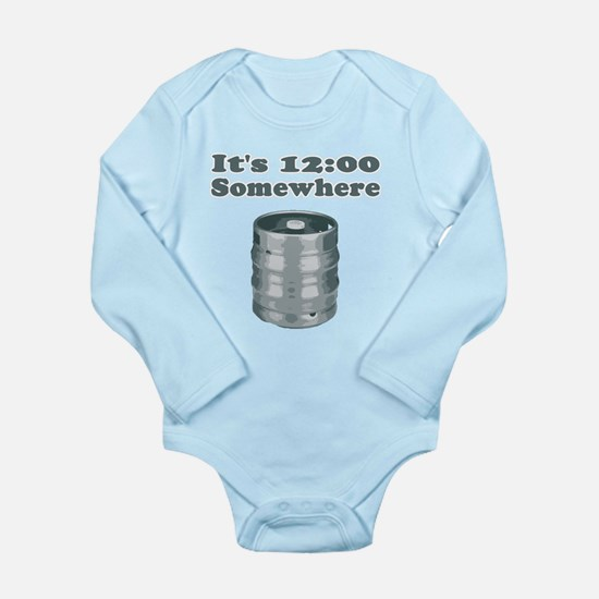 It's 12:00 Somewhere Long Sleeve Infant Bodysuit