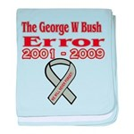 The Bush Error baby blanket