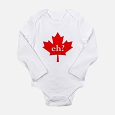 Eh? Long Sleeve Infant Bodysuit
