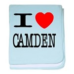 I (Heart) Camden baby blanket