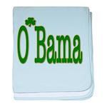 Irish For O'Bama baby blanket
