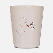 NJ > U Shot Glass