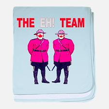 The Eh! Team baby blanket