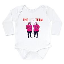 The Eh! Team Long Sleeve Infant Bodysuit