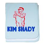The Real Kim Shady baby blanket