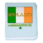 Ireland: Established 8000 BC baby blanket