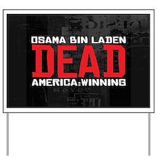Osama Dead Yard Sign