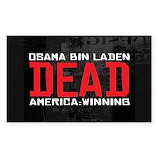 Osama Dead Decal