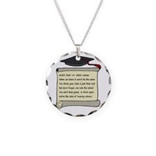 Class of 2011 Poem Necklace