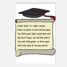 Class of 2011 Poem Postcards (Package of 8)