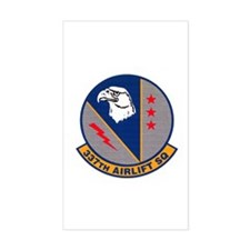 337th Airlift Squadron Rectangle Decal